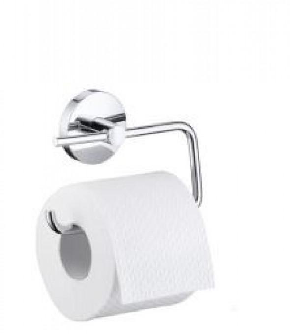Hansgrohe Logis uchwyt na papier toaletowy bez pokrywy chrom 40526000