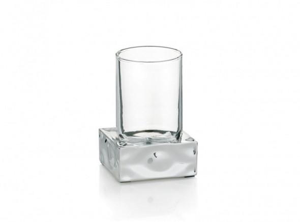 Kela Verbera kubek chrom efekt płynącej wody 22426