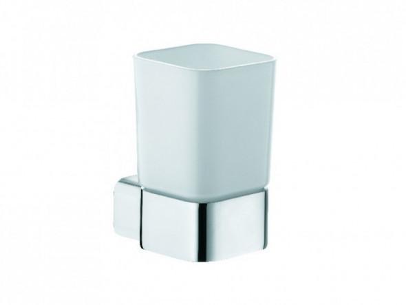 Kludi E2 uchwyt ze szklanką chrom/szkło 4997505