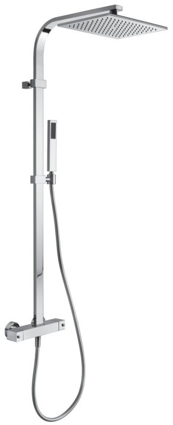 Paffoni City kolumna natryskowa termostatyczna chrom ZCOL665