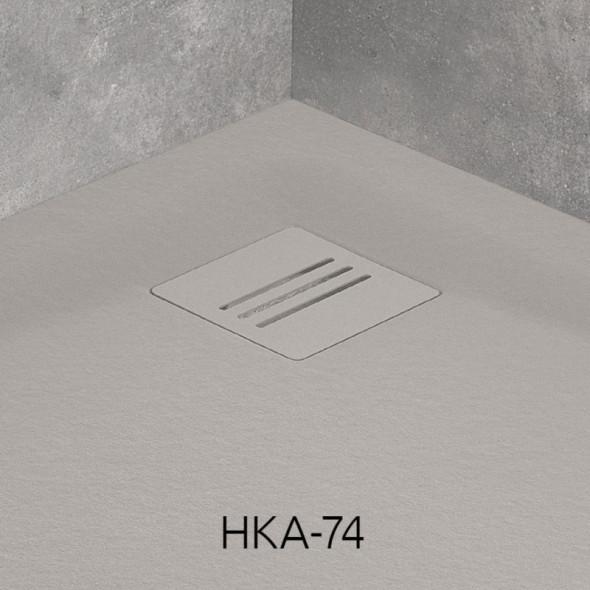 Radaway Kyntos kratka odpływowa cemento HKA-74