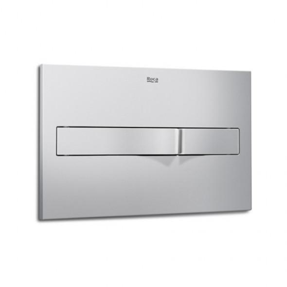 Roca Pro PL2 przycisk spłukujący do WC chrom mat A890096002