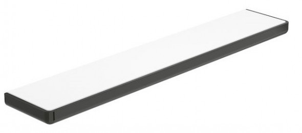 Roca Tempo półka łazienkowa 60 cm szkło/czarny A817027022