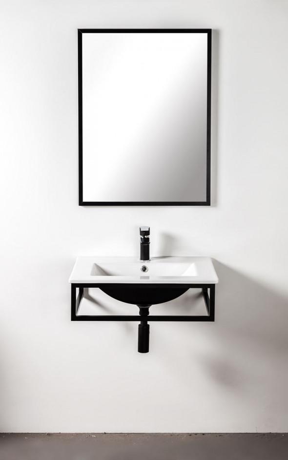 Sanitti Trendy stelaż aluminiowy / konsola pod umywalkę lub pod blat 60 cm TK-60