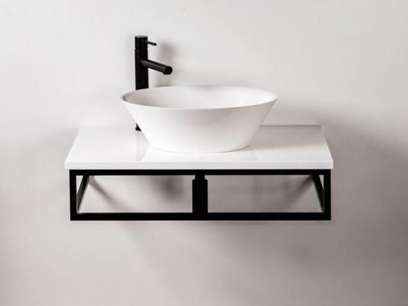 Sanitti Trendy stelaż aluminiowy / konsola pod umywalkę lub pod blat 80 cm TK-80