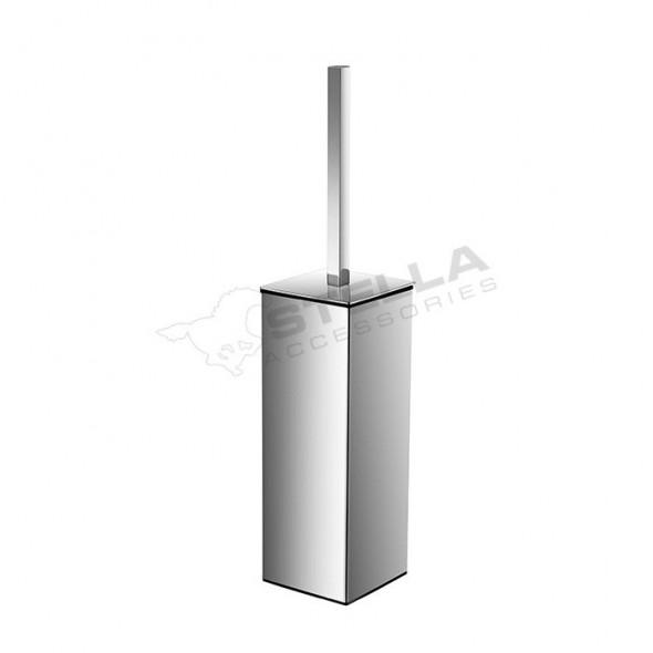 Stella Akcesoria szczotka WC wolnostojąca kwadratowa chrom 19208