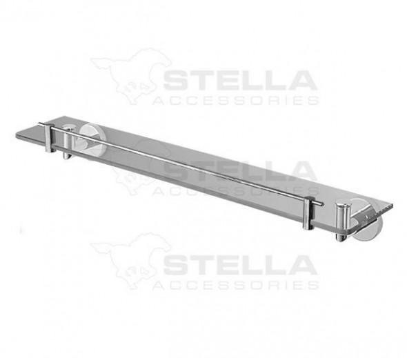 Stella Classic półka szklana 60 chrom 07800