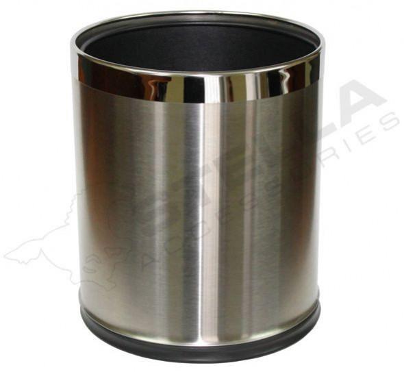 Stella pojemnik na śmieci 9 L zdejmowana obudowa stal nierdzewna szczotkowana 20100