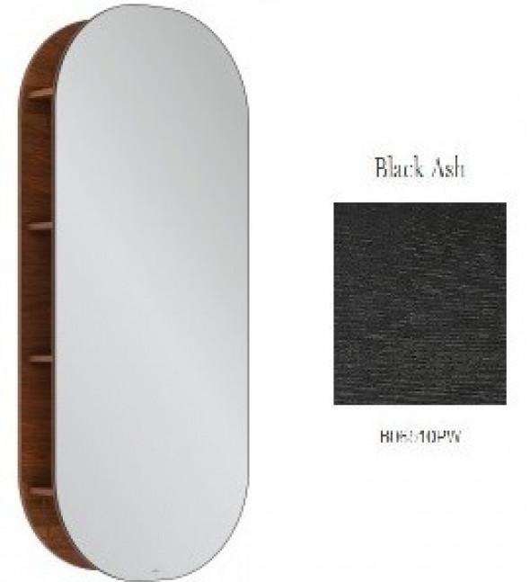 Villeroy&Boch Antheus regał z lustrem 60x140x178 cm Black Ash B30600PW