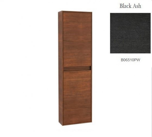 Villeroy&Boch Antheus szafka wysoka słupek łazienkowy wiszący zawiasy z prawej strony 48x170x20 cm Black Ash B06801PW