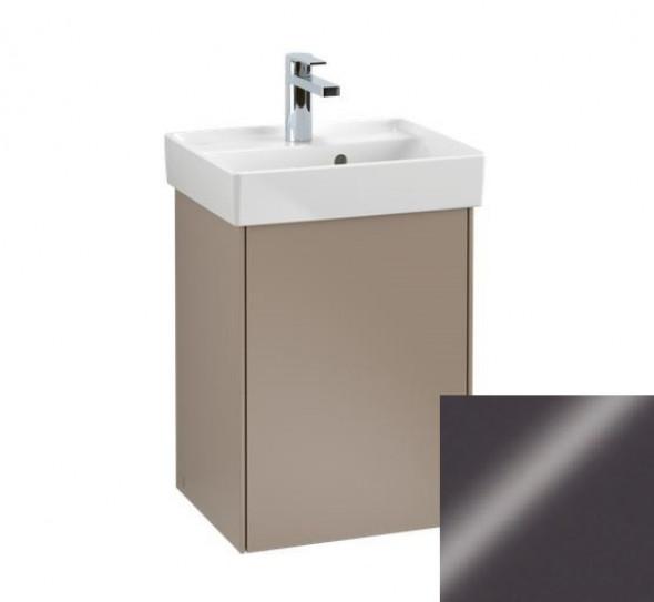 Villeroy&Boch Collaro szafka pod umywalkę wisząca zawiasy z lewej strony 41x54x34 cm Glossy Grey C00500FP