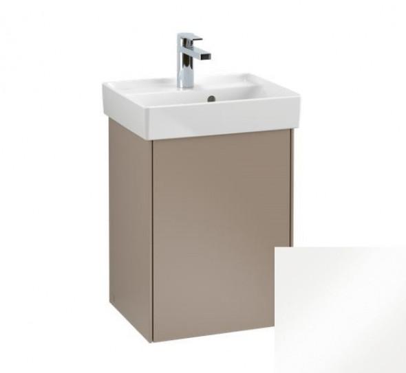 Villeroy&Boch Collaro szafka pod umywalkę wisząca zawiasy z lewej strony 41x54x34 cm Glossy White C00500DH