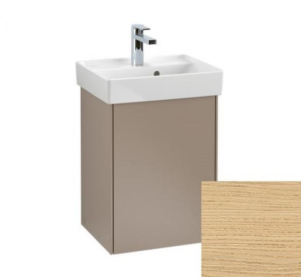 Villeroy&Boch Collaro szafka pod umywalkę wisząca zawiasy z lewej strony 41x54x34 cm Nordic Oak C00500VJ