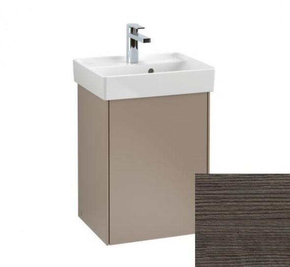 Villeroy&Boch Collaro szafka pod umywalkę wisząca zawiasy z lewej strony 41x54x34 cm Oak Graphite C00500FQ