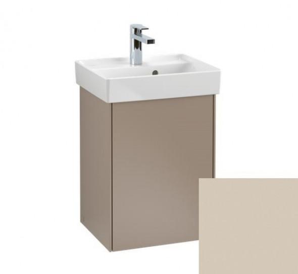 Villeroy&Boch Collaro szafka pod umywalkę wisząca zawiasy z lewej strony 41x54x34 cm Soft Grey C00500VK