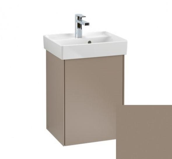 Villeroy&Boch Collaro szafka pod umywalkę wisząca zawiasy z lewej strony 41x54x34 cm Truffle Grey C00500VG