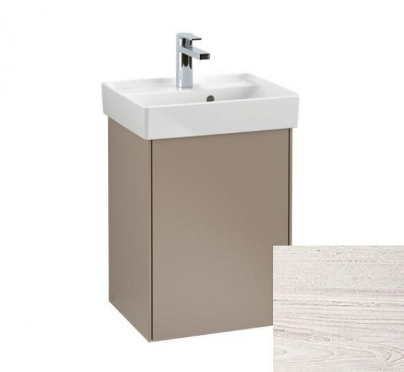 Villeroy&Boch Collaro szafka pod umywalkę wisząca zawiasy z lewej strony 41x54x34 cm White Wood C00500E8