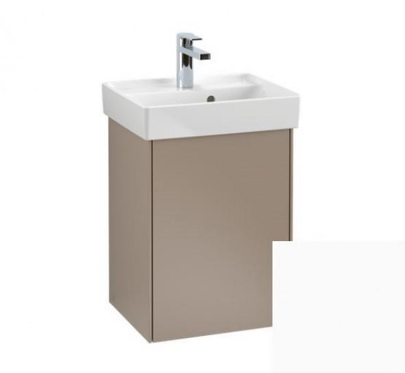 Villeroy&Boch Collaro szafka pod umywalkę wisząca zawiasy z prawej strony 41x54x34 cm White Matt C00501MS