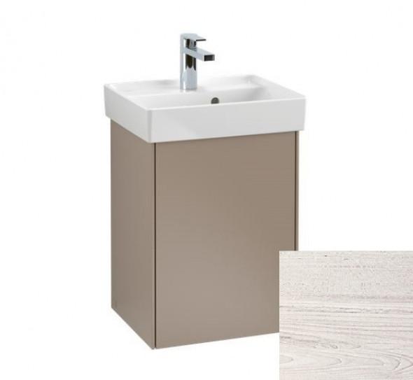 Villeroy&Boch Collaro szafka pod umywalkę wisząca zawiasy z prawej strony 41x54x34 cm White Wood C00501E8