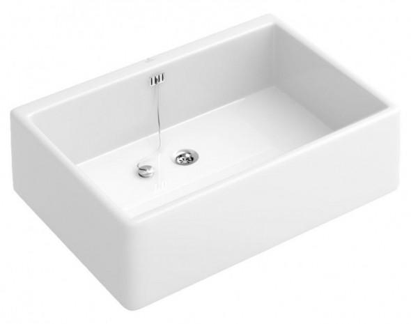 Villeroy&Boch O.Novo zlew ceramiczny 69,5cm 69,5x50 biały weiss alpin ceramicplus 632700R1
