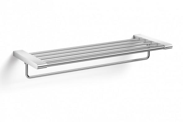 ZACK Atore półka łazienkowa z relingiem 64 cm stal nierdzewna matowa 40434