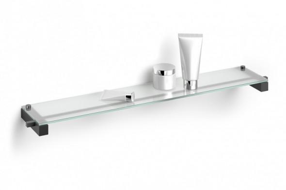 ZACK Carvo półka łazienkowa 66 cm stal nierdzewna czarny 40506