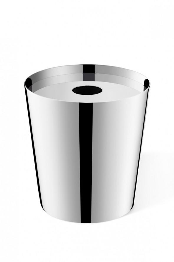 ZACK Lyos pojemnik łazienkowy stal nierdzewna polerowana 40342