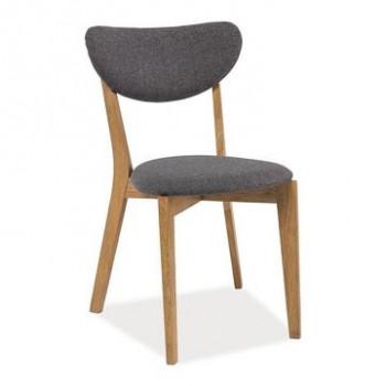 ★KUPON 10% NA STRONIE★ Krzesło ANDRE Signal Dąb naturalny + szary