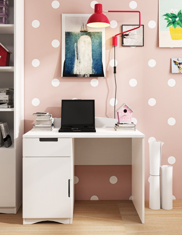 Biurko CLASSIC białe ☞ Kupuj w Sprawdzonych i wysoko Ocenianych sklepach