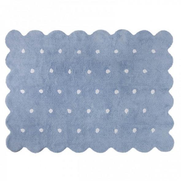 Dywan dziecięcy GALLETA AZUL 120x160 niebieski ☞ Kupuj w Sprawdzonych i wysoko Ocenianych sklepach