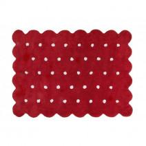 Dywan dziecięcy GALLETA ROJO 120x160 czerwony ☞ Kupuj w Sprawdzonych i wysoko Ocenianych sklepach