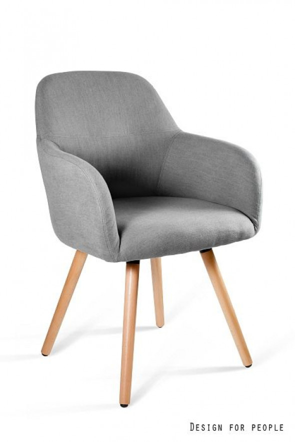 Krzesło LINE szare ☞ Kupuj w Sprawdzonych i wysoko Ocenianych sklepach