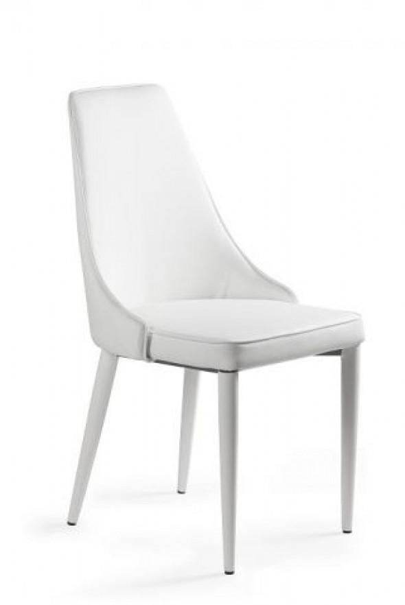 Krzesło SETINA białe ☞ Kupuj w Sprawdzonych i wysoko Ocenianych sklepach