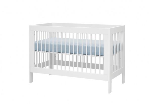 Łóżeczko BASIC 120x60 białe ☞ Kupuj w Sprawdzonych i wysoko Ocenianych sklepach