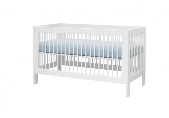Łóżeczko BASIC 140x70 białe ☞ Kupuj w Sprawdzonych i wysoko Ocenianych sklepach