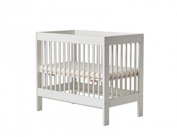 Łóżeczko dostawka BASIC 89x45 białe ☞ Kupuj w Sprawdzonych i wysoko Ocenianych sklepach