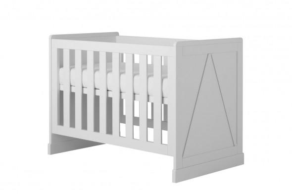 Łóżeczko MARIE 120x60 białe ☞ Kupuj w Sprawdzonych i wysoko Ocenianych sklepach