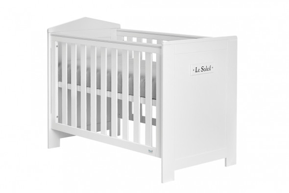 Łóżeczko MARSYLIA 120x60 białe ☞ Kupuj w Sprawdzonych i wysoko Ocenianych sklepach