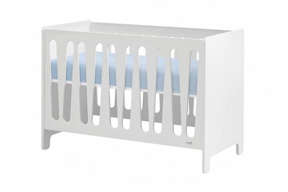 Łóżeczko MOON 120x60 białe ☞ Kupuj w Sprawdzonych i wysoko Ocenianych sklepach