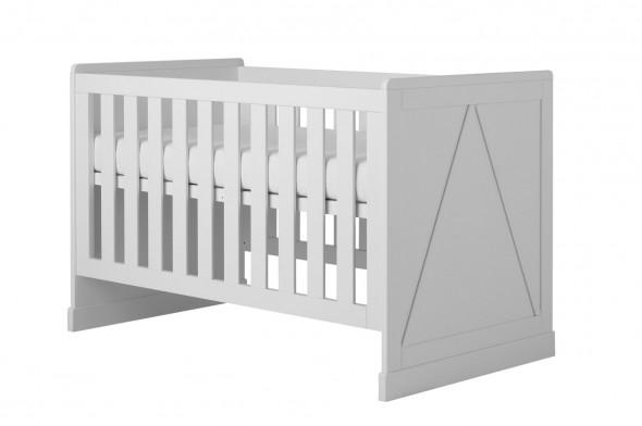 Łóżeczko tapczanik MARIE 140x70 białe ☞ Kupuj w Sprawdzonych i wysoko Ocenianych sklepach