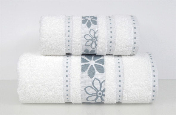 Ręcznik MARGARITA 30X50 biały ☞ Kupuj w Sprawdzonych i wysoko Ocenianych sklepach