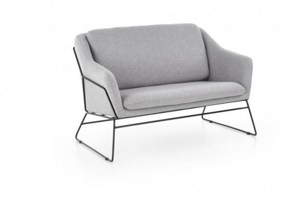 Sofa SOFT 2 XL jasnoszara/czarna ☞ Kupuj w Sprawdzonych i wysoko Ocenianych sklepach