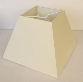 Abażur trapez - Inari kremowy zwis duży/lampa podłogowa