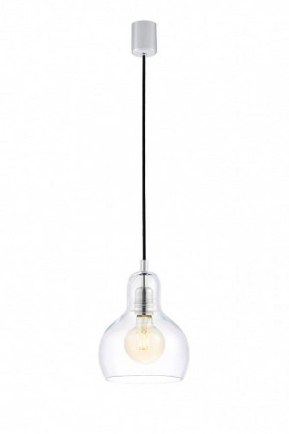 Longis I lampa wisząca 1-punktowa (przewód czarny) 10121109