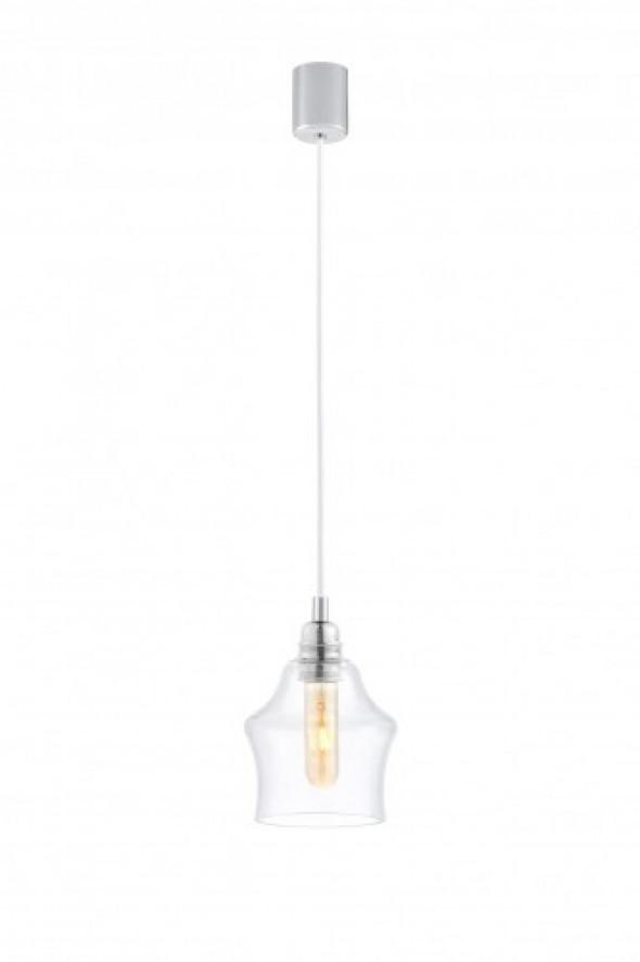 Longis II lampa wisząca 1-punktowa (przewód biały) 10131109