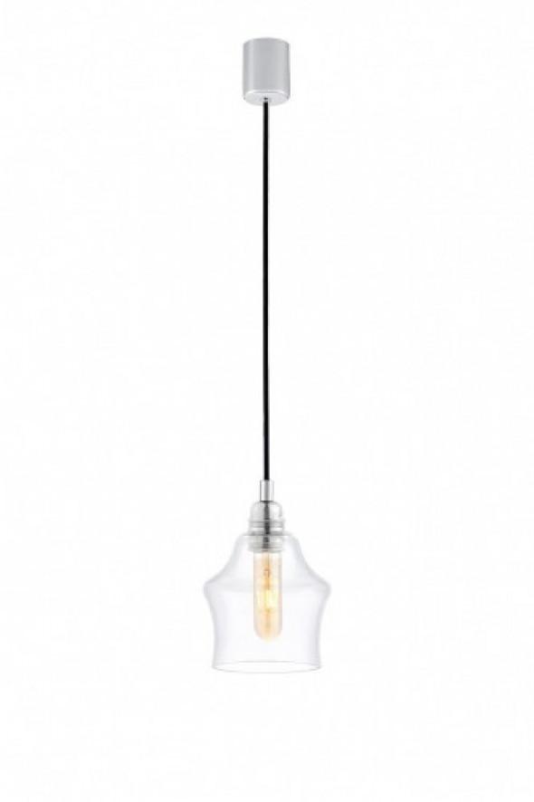Longis II lampa wisząca 1-punktowa (przewód czarny) 10134109