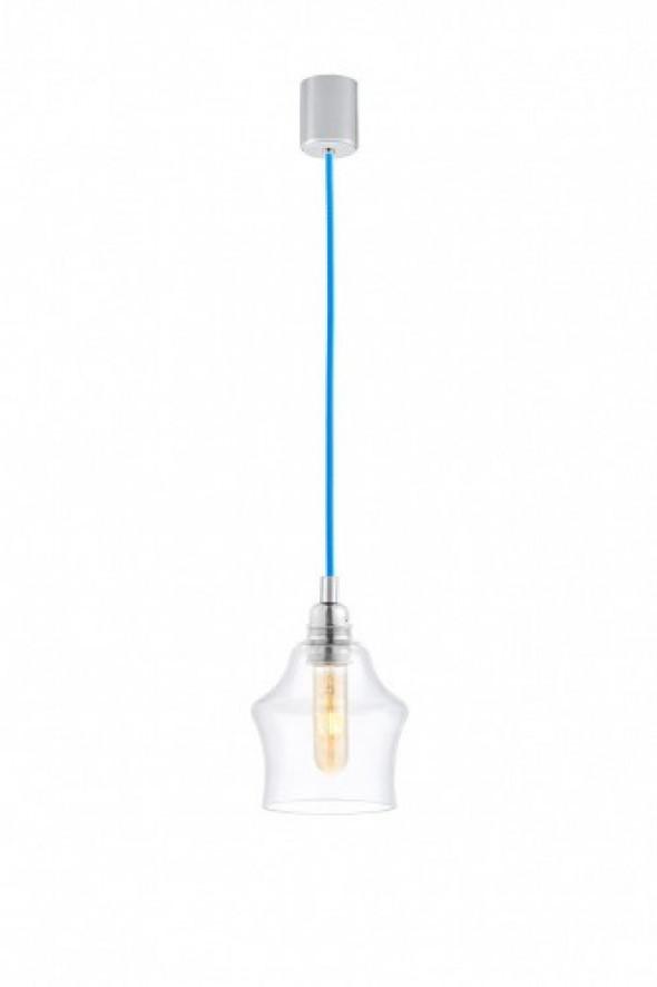 Longis II lampa wisząca 1-punktowa (przewód niebieski) 10136109