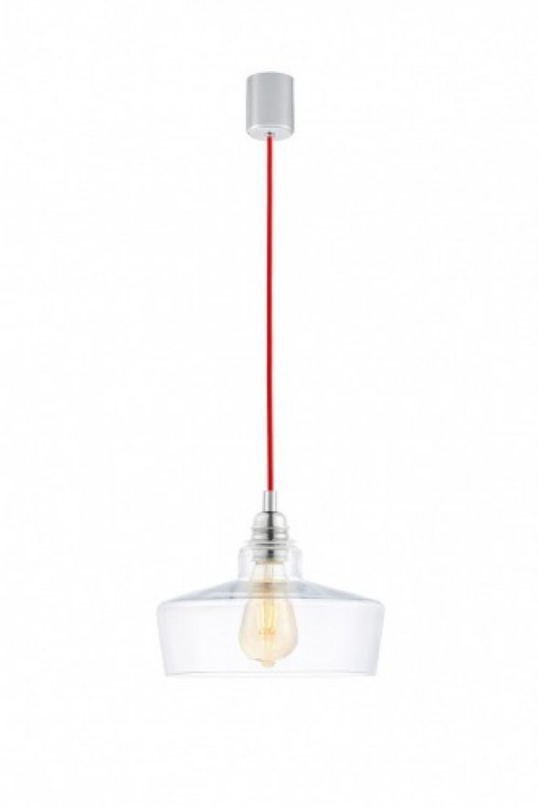 Longis III lampa wisząca 1-punktowa (przewód czerwony) 10143109