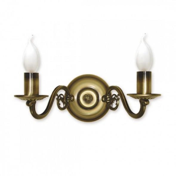 Świecznik kinkiet 2-punktowy 381/K2
