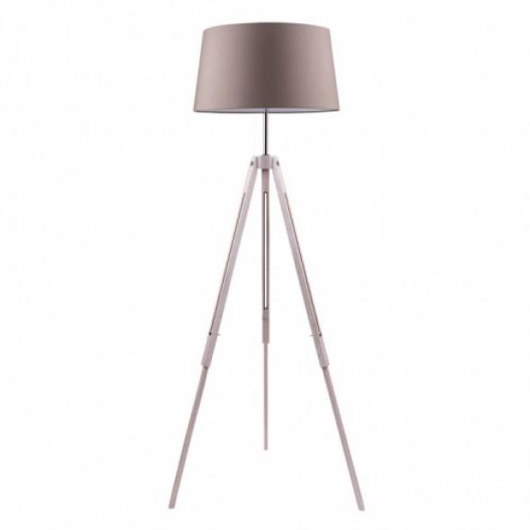 Tripod lampa podłogowa 1-punktowa dąb bielony/mix kolorów abażurów 6023032